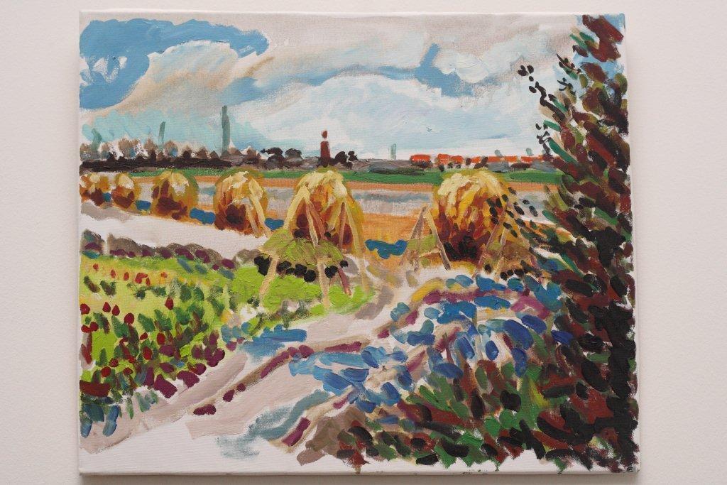 landschap_bij West-Kapelle Zeeland_50_x_60_