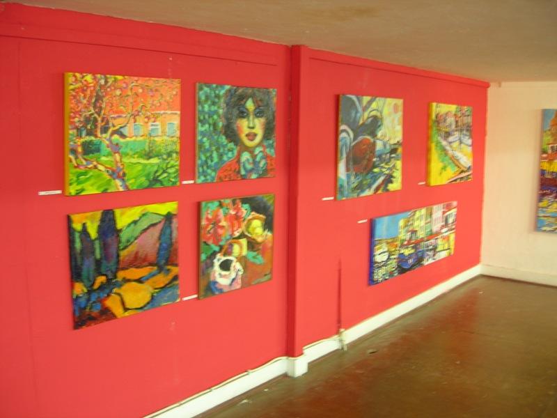 overzicht schilderijen