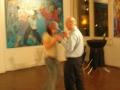 Robin danst