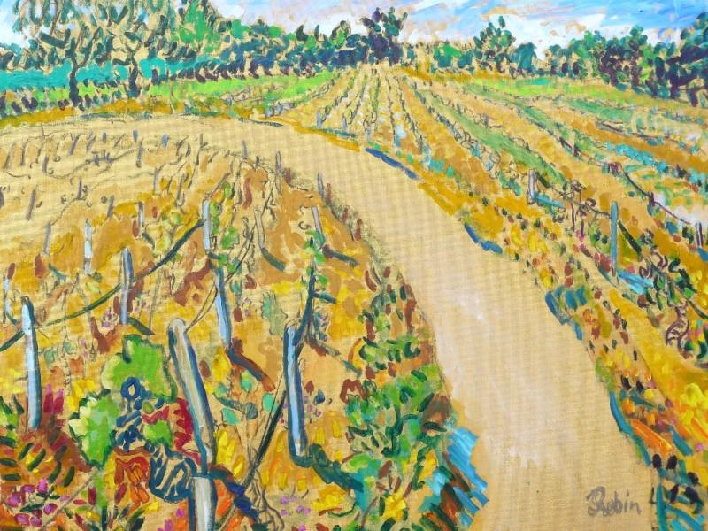 Les vignobles bij Menetreol sous Sancerre