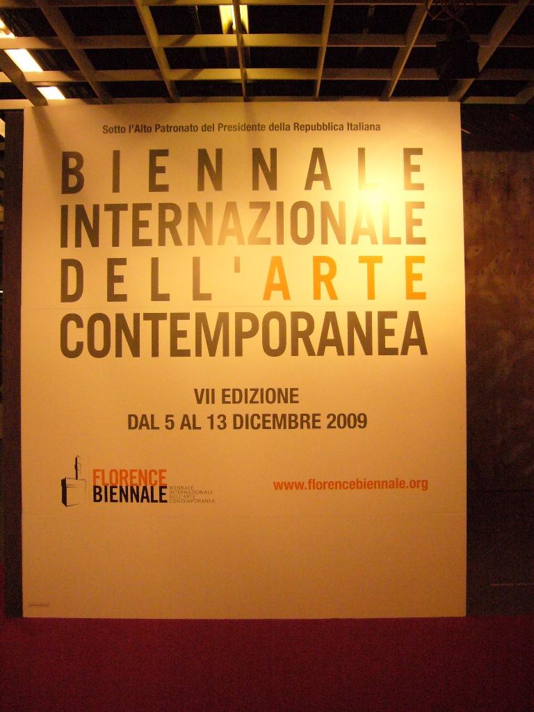 Biennale Florence aankondiging