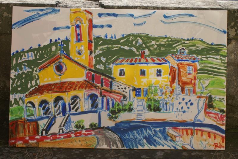 Kerkje Pomino (schilderij)