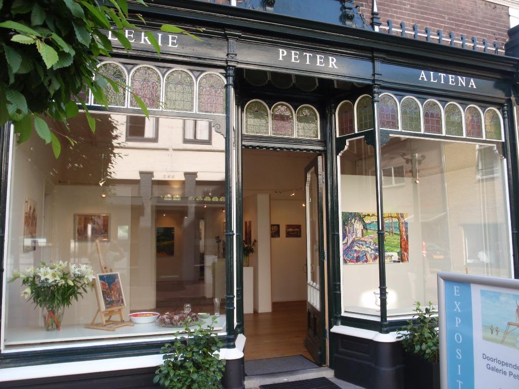 Entree galerie Peter Altena