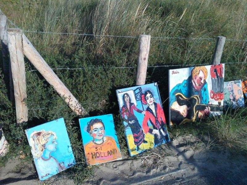 Noordwijkse schilderfestival 2014