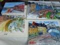 Schilderwedstrijd in Valery en Caux