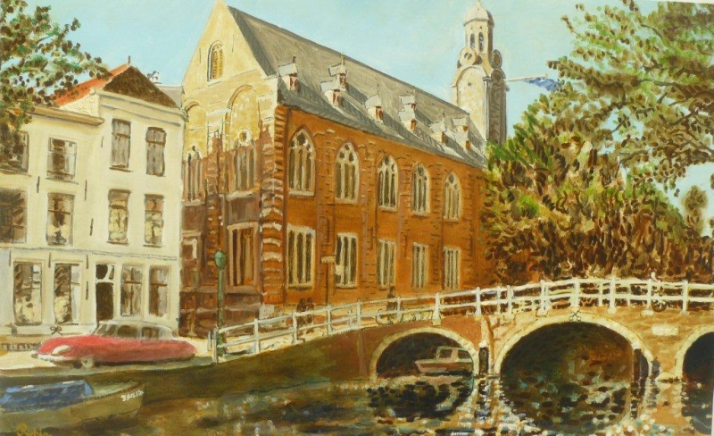 RK-Academiegebouw Rapenburg Leiden coproductie