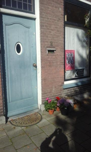 Ingang home galery