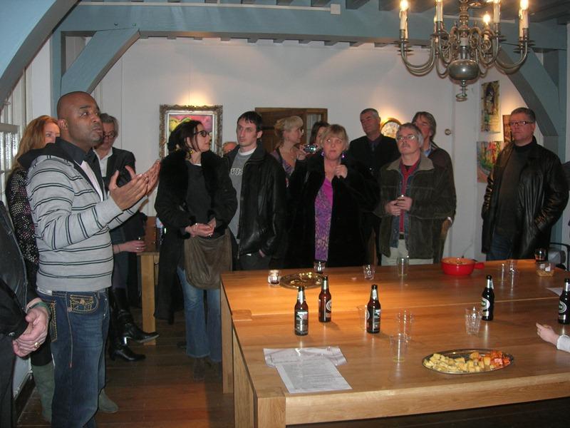 Opening maart 2010 expo Loire aan de Maas