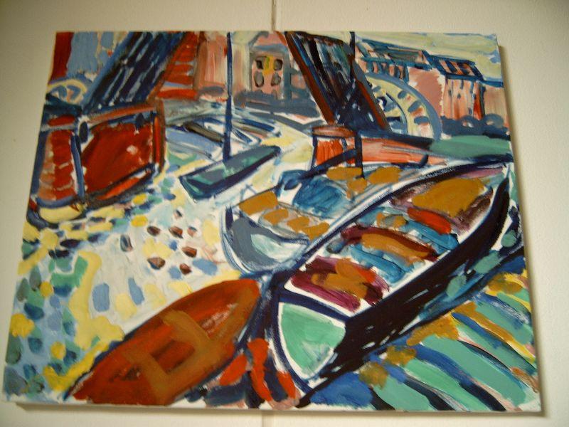 Haven Middelburg (40x50)