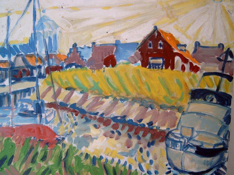 Haventje Veere (50x60)