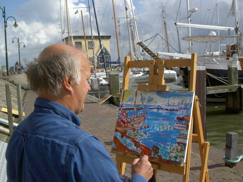 volendam live schilderen
