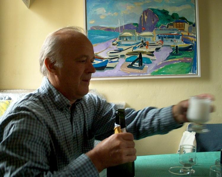 Normandie bezoek aan Jason Berger
